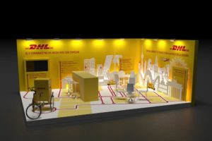 dhl17port 300x200 - Diseño de stands en Orusco