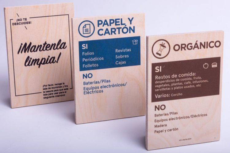 impresion rotulos barcelona wework placas madera