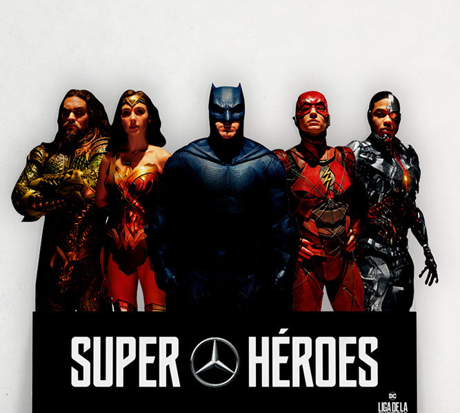 Corpóreo Mercedes Liga Justicia