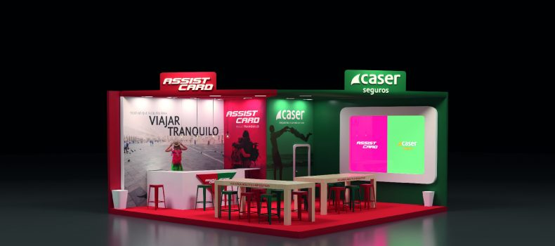 Diseño de stands en Somosaguas