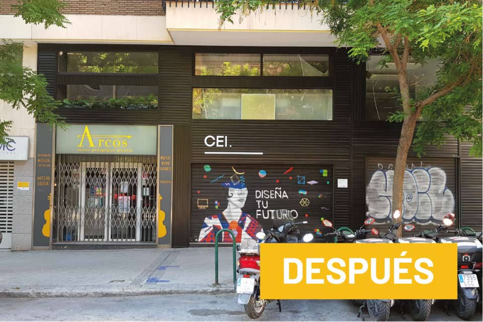 servicios rotulacion locales diseno produccion cei despues - Rotulación de empresas en El Pardo
