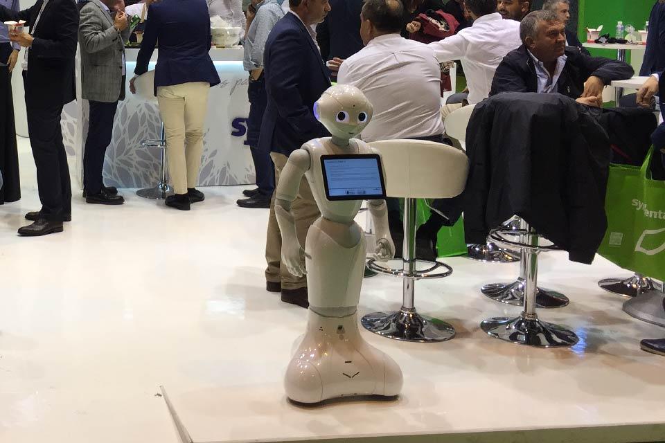 blog disenar stand syngenta robot - Cómo diseñar un stand para una feria