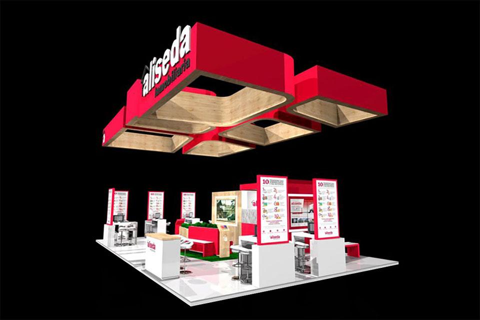 blog stand ferias desarrollarlo 3d aliseda - Diseño de stands en Valdemarín