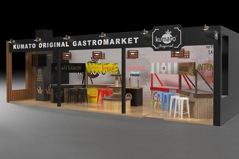 blog stand ferias desarrollarlo 3d kumato - Estructura Stand Feria