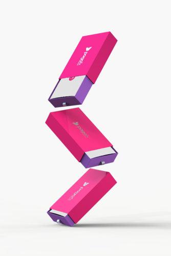 impresión packaging pagofx 3d 3