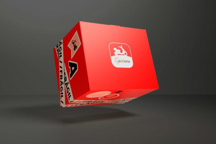 portfolio impresión kit motero acciona movilidad 3d