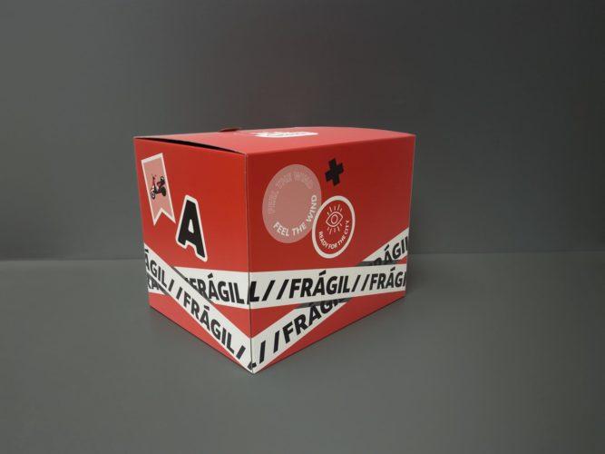 portfolio impresión kit motero acciona movilidad esquina