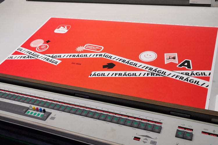 portfolio impresión kit motero acciona movilidad impresión