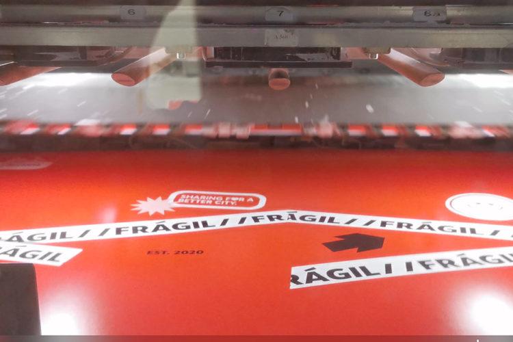 portfolio impresión kit motero acciona movilidad máquina