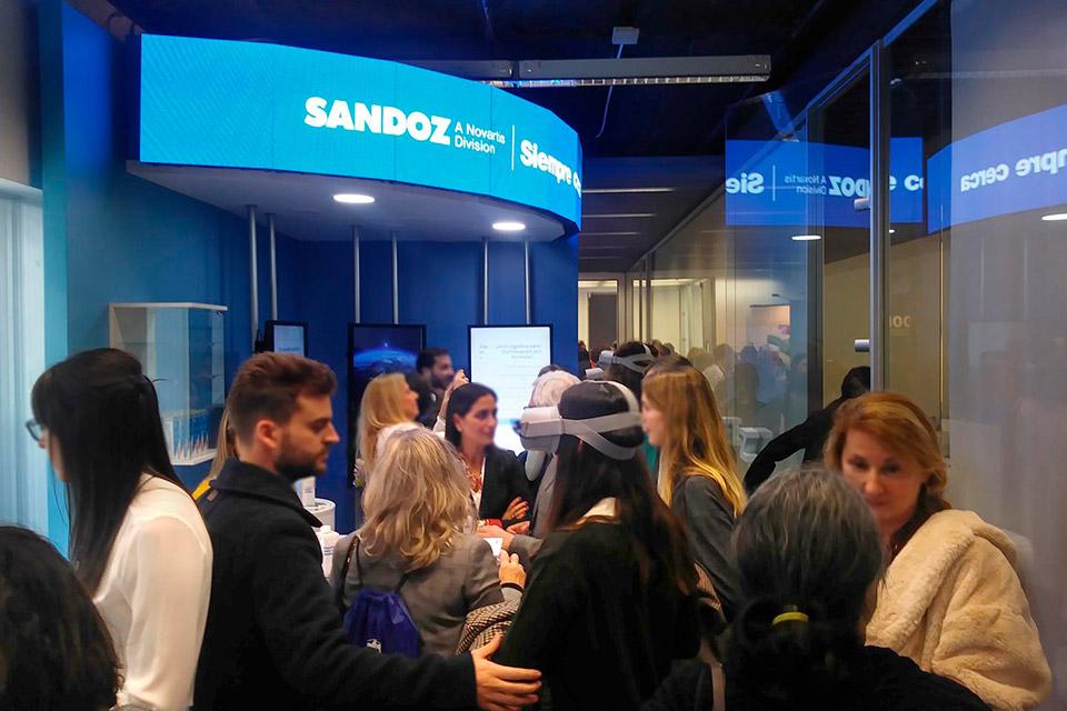 servicios eventos marketing sandoz - EVENTOS DE MARKETING