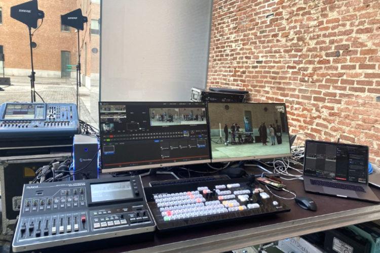 portfolio eventos streaming cuerpo romo pantalla