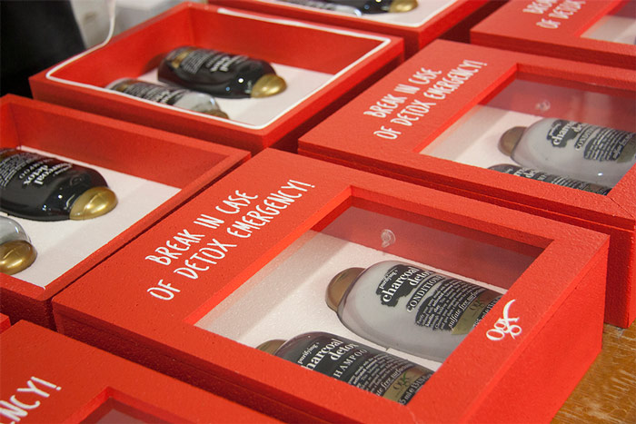 portfolio impresión packaging creativo ogx proceso sellado