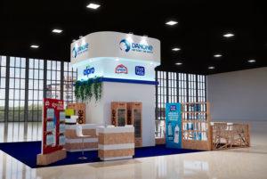 portfolio eventos stand danone hip 2021 3d agua 300x201 - Módulos Stands Para Ferias