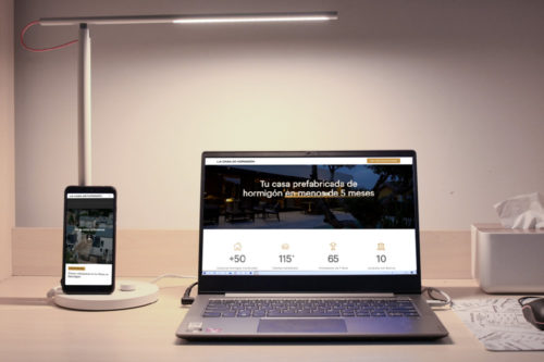 portfolio digital diseño web hormihome