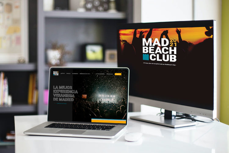 portfolio digital diseño web wordpress madbeach