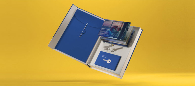 Packaging caja con ventana
