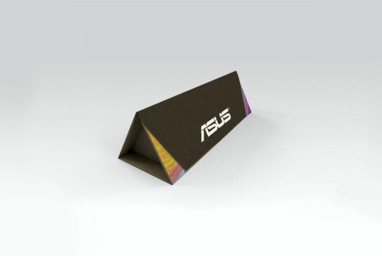 portfolio diseño impresión packaging hotwire presentación asus 3d cerrado