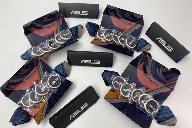 portfolio diseño impresión packaging hotwire presentación asus