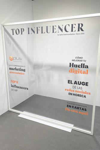 portfolio eventos stand modular hip 2021 aplus top influencer