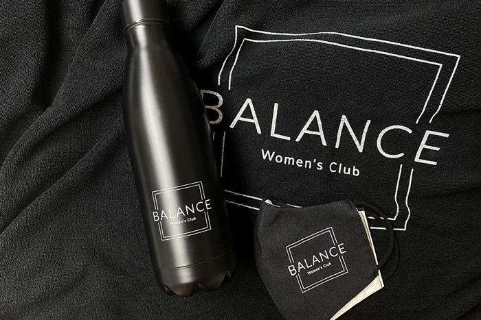 portfolio impresión merchandising balance womens club material deportivo cabecera